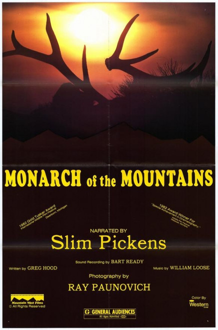 Monarch of the Mountains Movie Poster (11 x 17) - Item # MOVGE6089