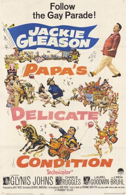 Papa's Delicate Condition Movie Poster (11 x 17) - Item # MOV221785
