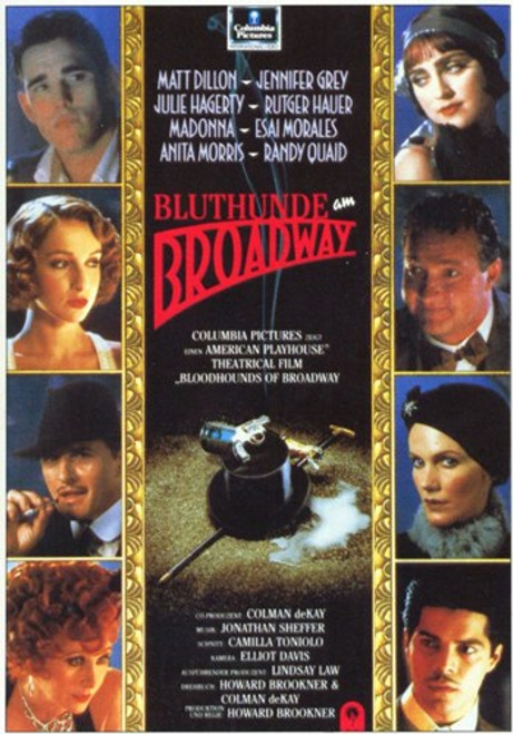 Bloodhounds of Broadway Movie Poster (11 x 17) - Item # MOV212056