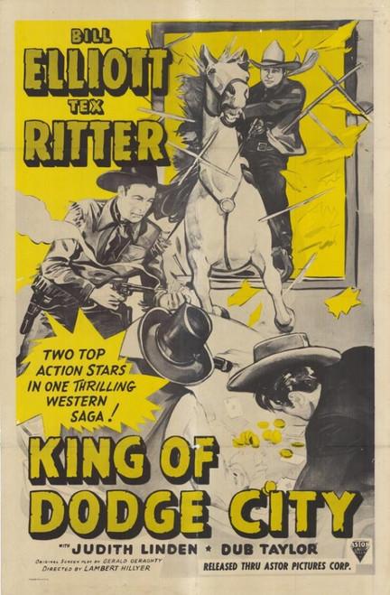 King of Dodge City Movie Poster Print (27 x 40) - Item # MOVAF6857