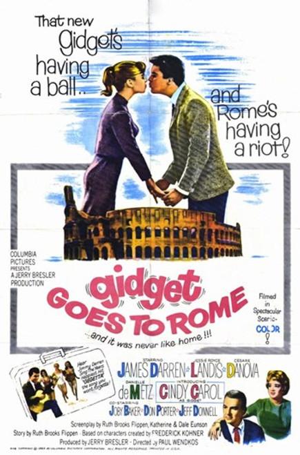 Gidget Goes to Rome Movie Poster (11 x 17) - Item # MOV256052