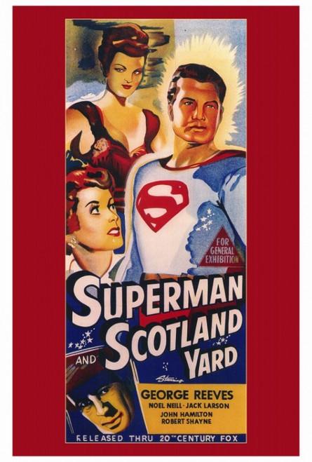 Superman in Scotland Yard Movie Poster Print (27 x 40) - Item # MOVAF1185