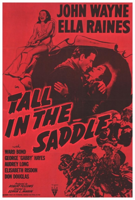 Tall in the Saddle Movie Poster Print (27 x 40) - Item # MOVCF7311
