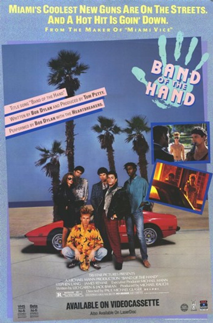 Band of the Hand Movie Poster (11 x 17) - Item # MOV252016
