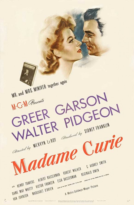 Madame Curie Movie Poster Print (27 x 40) - Item # MOVIJ2162