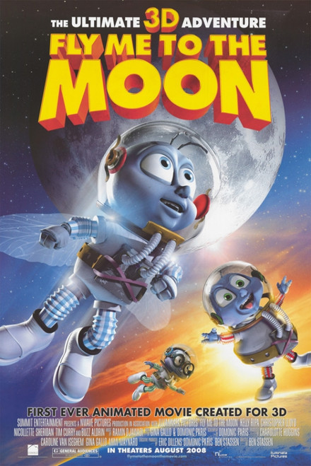 Fly Me To The Moon Movie Poster Print (27 x 40) - Item # MOVAI6253