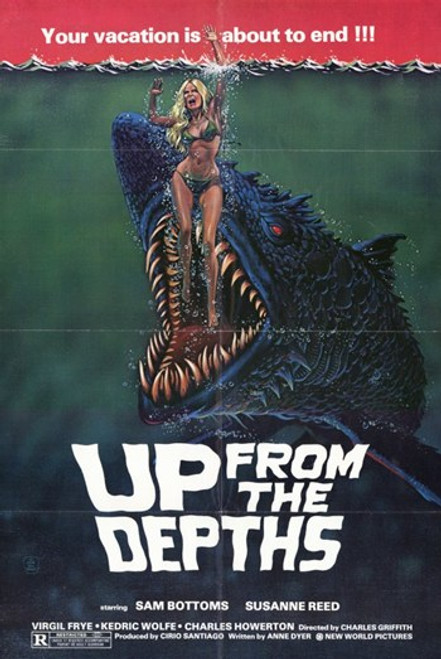 Up from the Depths Movie Poster (11 x 17) - Item # MOV197346