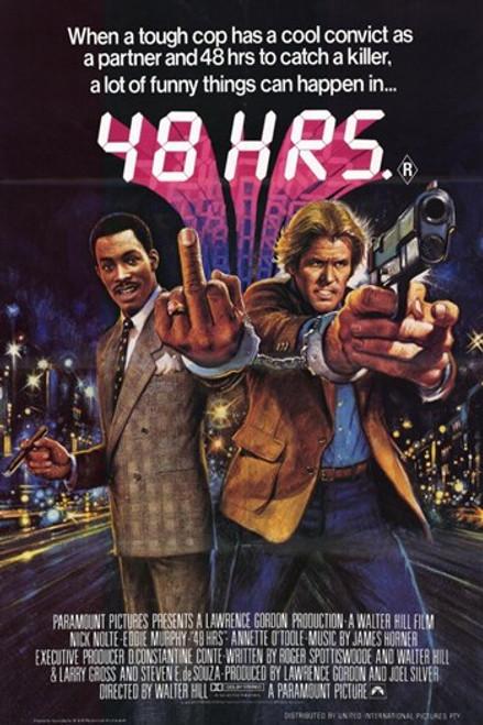 48 Hrs Movie Poster (11 x 17) - Item # MOV228283