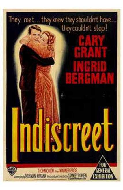 Indiscreet Movie Poster (11 x 17) - Item # MOV195598