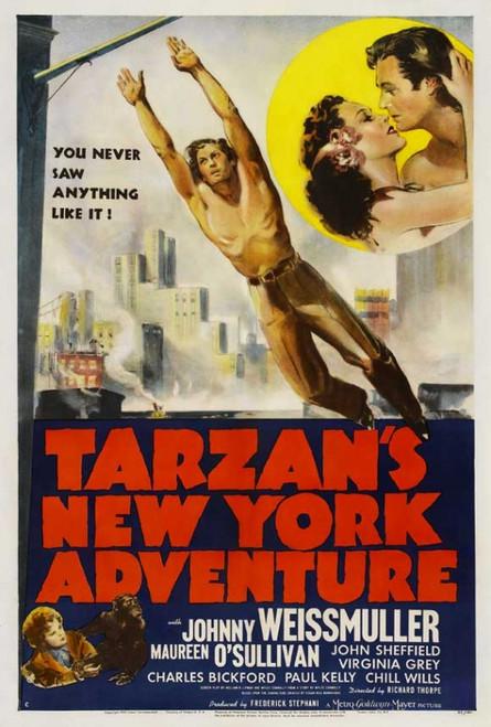 Tarzan's New York Adventure Movie Poster Print (27 x 40) - Item # MOVIJ1212