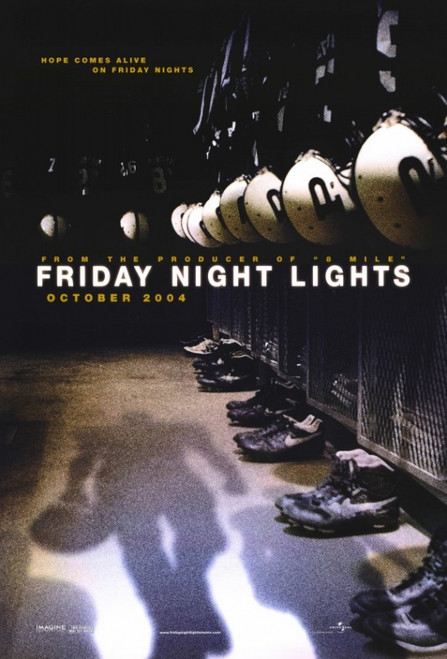 Friday Night Lights Movie Poster (11 x 17) - Item # MOVCE9400