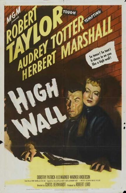High Wall Movie Poster Print (27 x 40) - Item # MOVIB84683