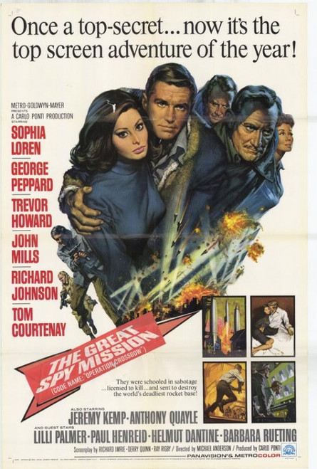 Great Spy Mission Movie Poster Print (27 x 40) - Item # MOVEH3234
