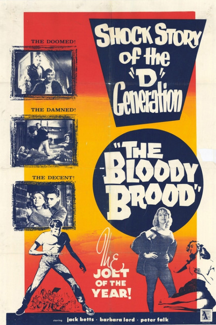 The Bloody Brood Movie Poster (11 x 17) - Item # MOVGE8981