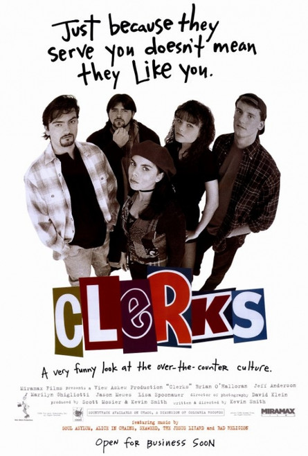 Clerks Movie Poster Print (27 x 40) - Item # MOVCH6390