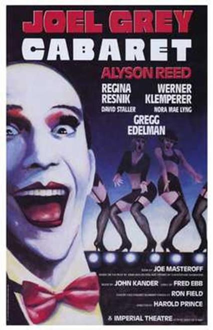 Cabaret (Broadway) Movie Poster (11 x 17) - Item # MOV228424