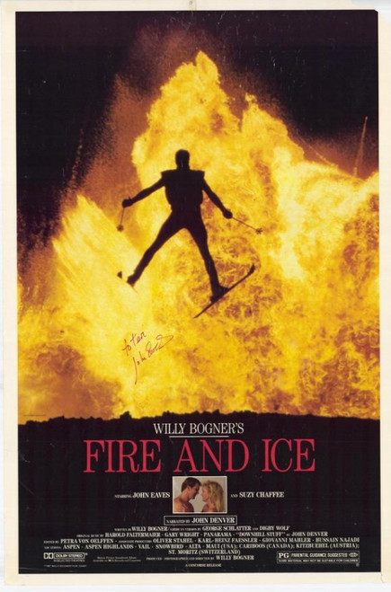 Fire and Ice Movie Poster (11 x 17) - Item # MOVAE9664