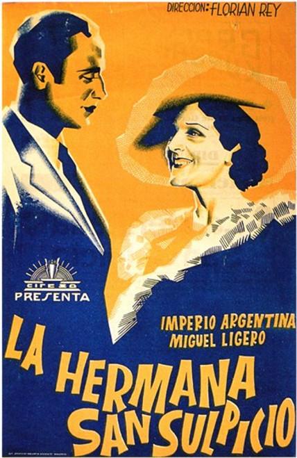 La Hermana San Sulpicio Movie Poster (11 x 17) - Item # MOV206717