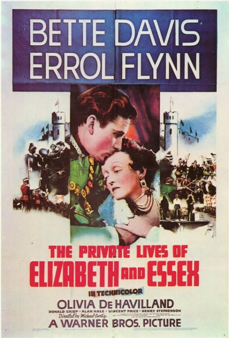 The Private Lives of Elizabeth & Essex Movie Poster (11 x 17) - Item # MOVIC5851