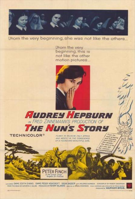 Nun's Story, The Movie Poster (11 x 17) - Item # MOVGH4420