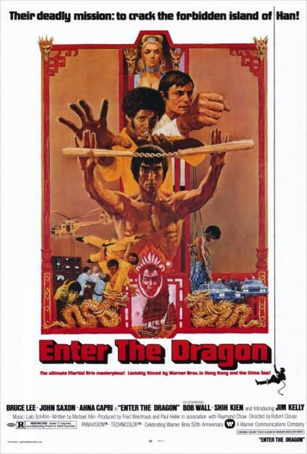 Enter the Dragon Movie Poster Print (27 x 40) - Item # MOVIH3016
