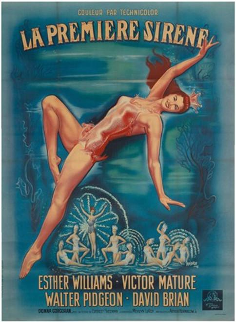 Million Dollar Mermaid Movie Poster (11 x 17) - Item # MOV413570