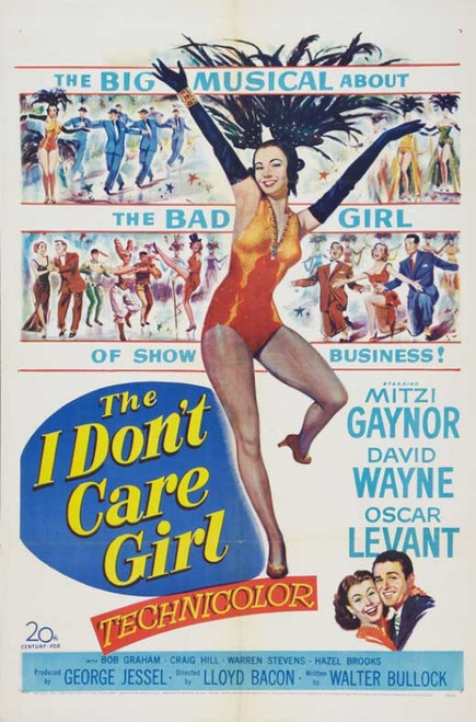 The I Don't Care Girl Movie Poster Print (27 x 40) - Item # MOVAB53204