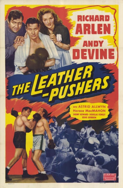 The Leather Pushers Movie Poster (11 x 17) - Item # MOVGF8852