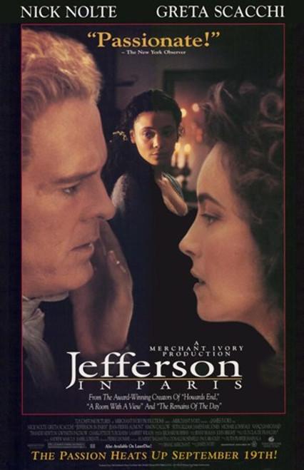 Jefferson in Paris Movie Poster (11 x 17) - Item # MOV210403