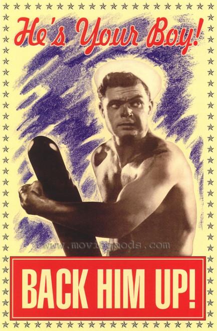 Back Him Up! Movie Poster Print (27 x 40) - Item # MOVGH4731