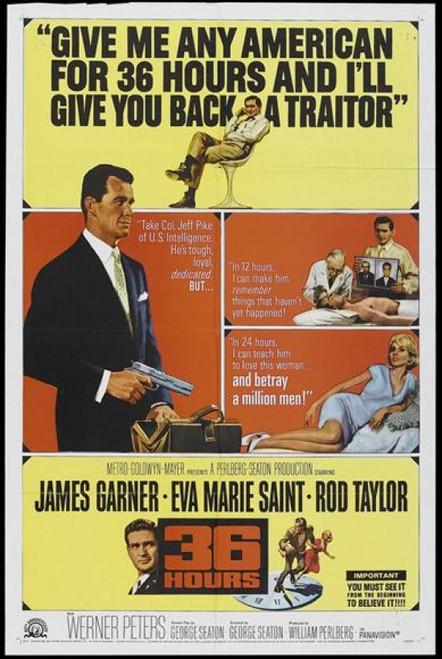 36 Hours Movie Poster (11 x 17) - Item # MOVAJ3242
