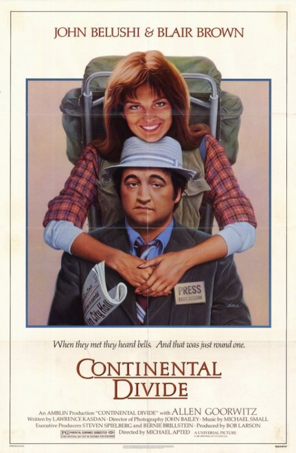 Continental Divide Movie Poster (11 x 17) - Item # MOVCD6857