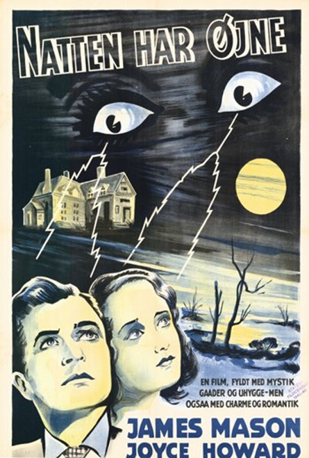 The Night Has Eyes Movie Poster (11 x 17) - Item # MOV293134