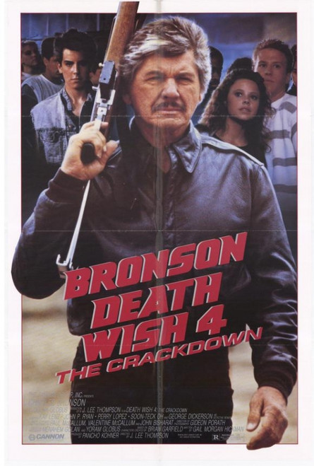 Death Wish 4: The Crackdown Movie Poster Print (27 x 40) - Item # MOVEF5418