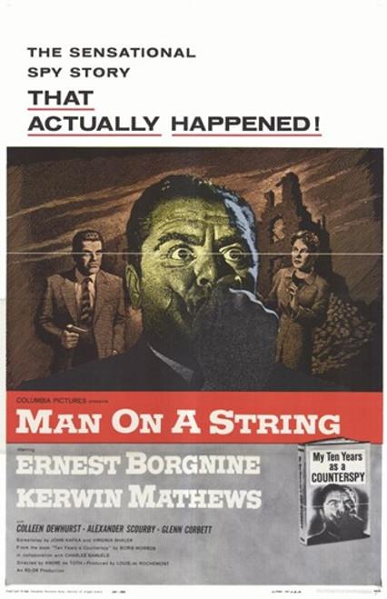 Man on a String Movie Poster (11 x 17) - Item # MOV253335