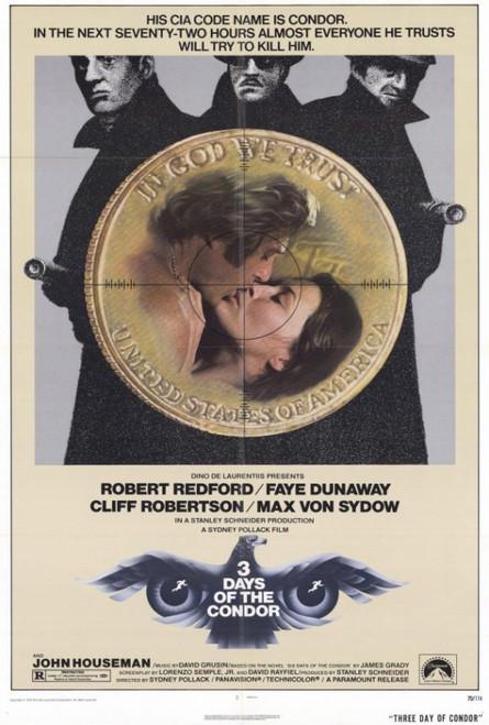 Three Days of the Condor Movie Poster Print (27 x 40) - Item # MOVAF9421