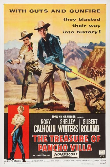 The Treasure of Pancho Villa Movie Poster Print (27 x 40) - Item # MOVGB66970