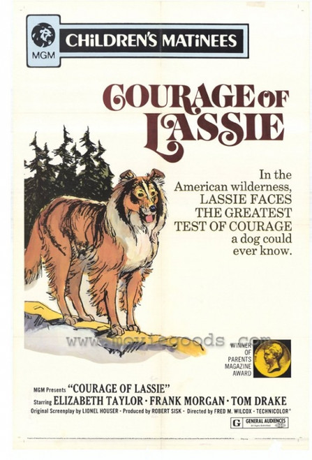 Courage of Lassie (r72) Movie Poster Print (27 x 40) - Item # MOVEH7342