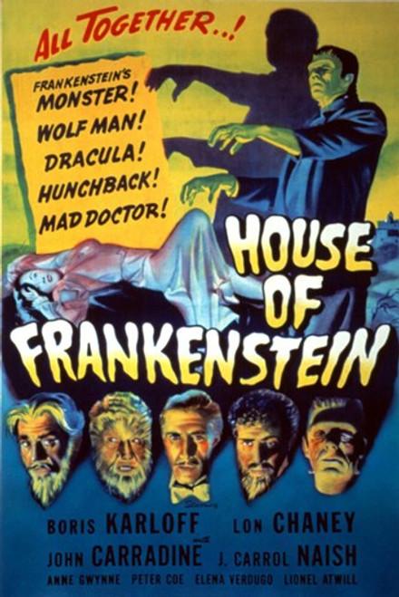 House of Frankenstein Movie Poster (11 x 17) - Item # MOV417455
