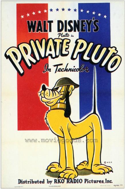 Private Pluto Movie Poster Print (27 x 40) - Item # MOVCF7347