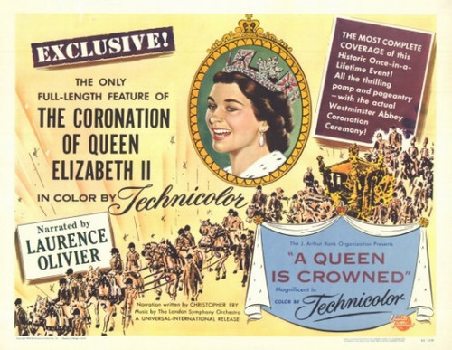 A Queen Is Crowned Movie Poster (11 x 17) - Item # MOVIE9406