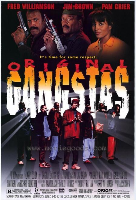 Original Gangstas Movie Poster (11 x 17) - Item # MOVAD6929