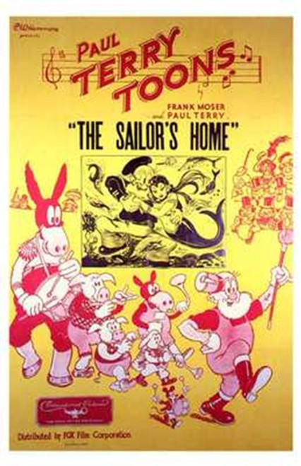 The Sailor's Home Movie Poster (11 x 17) - Item # MOV197797