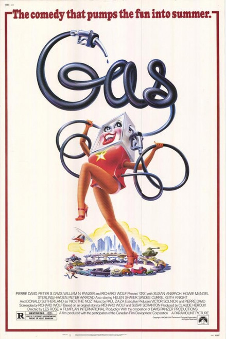 Gas Movie Poster (11 x 17) - Item # MOVAE7655