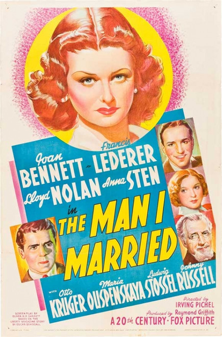 The Man I Married Movie Poster Print (27 x 40) - Item # MOVCJ6891