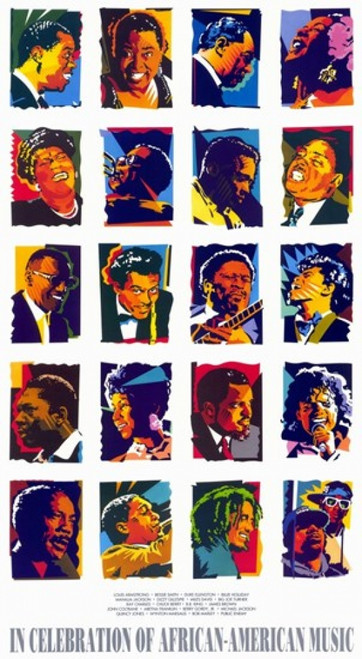 in Celebration of African-American Music Movie Poster (11 x 17) - Item # MOV247591