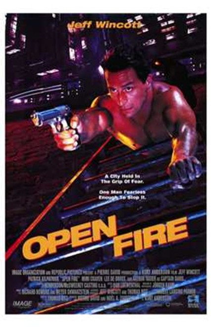Open Fire Movie Poster (11 x 17) - Item # MOV221222
