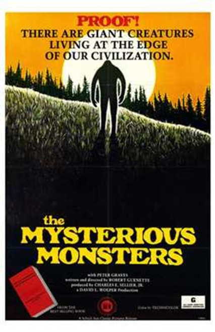 The Mysterious Monsters Movie Poster (11 x 17) - Item # MOV193869