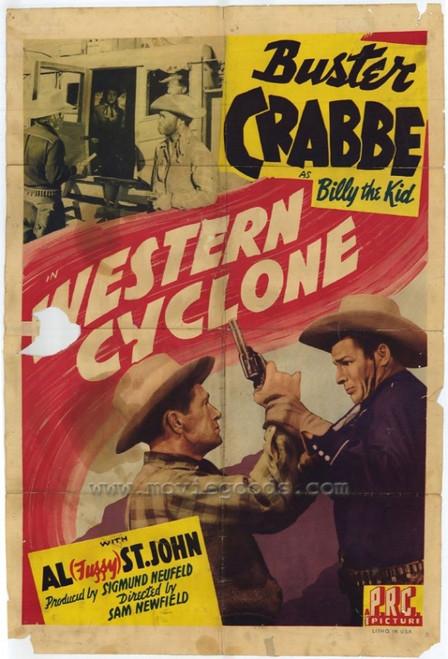 Western Cyclone Movie Poster Print (27 x 40) - Item # MOVAH4649