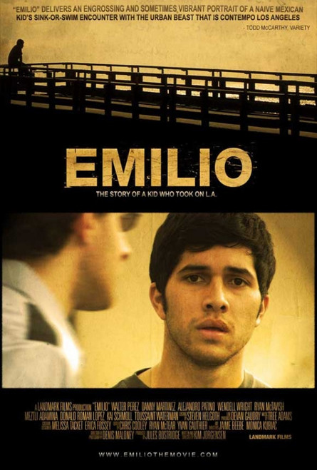 Emilio Movie Poster (11 x 17) - Item # MOVIJ8938